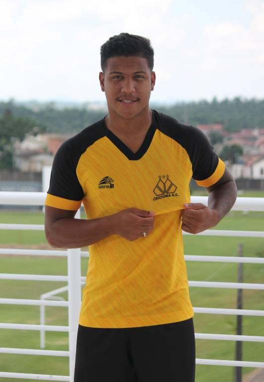 Atacante Marcus Índio estava no Brusque, onde disputou a Série C - Celso da Luz/Criciúma/ND
