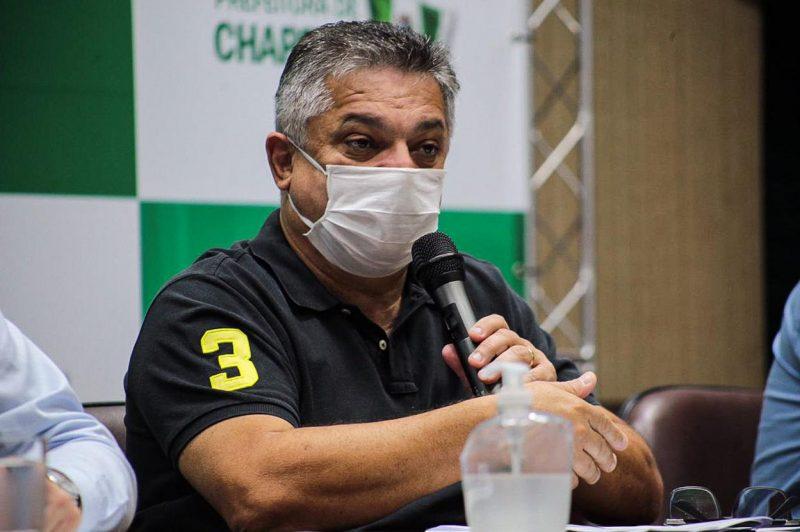Prefeito de Chapecó, João Rodrigues (PSD) – Foto: Foto: Leandro Schmidt/ND