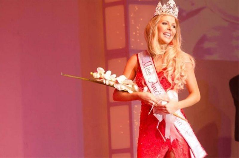 Júlia Guerra, gaúcha que representou o Brasil e venceu o Miss America Latina Del Mundo 2013 – Foto: Divulgação/ND