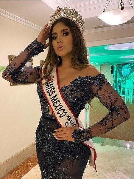 Laura Romero foi finalista do Miss México 2019 – Foto: Reprodução/Instagram