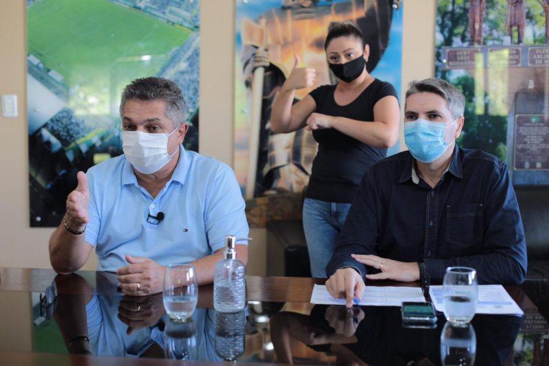 Ações visam impedir a transferência de pacientes para outros municípios. – Foto: Leandro Schmidt/Prefeitura de Chapecó/Divulgação/ND