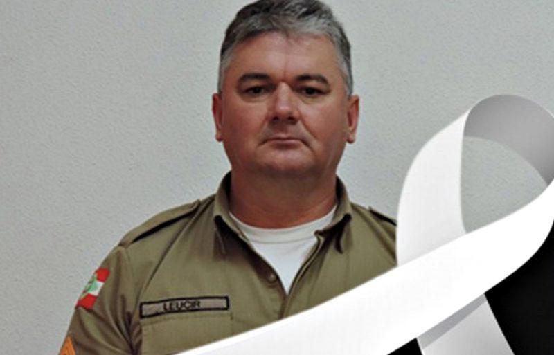 Morre sargento Leucir Kist com mais de 30 anos na Polícia Militar – Foto: Polícia Militar/Divulgação/ND
