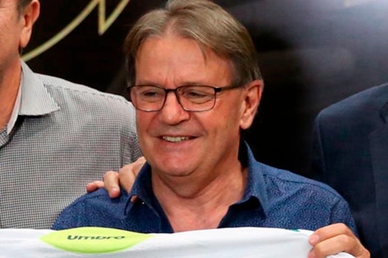 O maior cargo honorífico da Associação Chapecoense de Futebol foi ocupado pelo conselheiro Lírio Smaniotto – Foto: ACF/Divulgação/ND