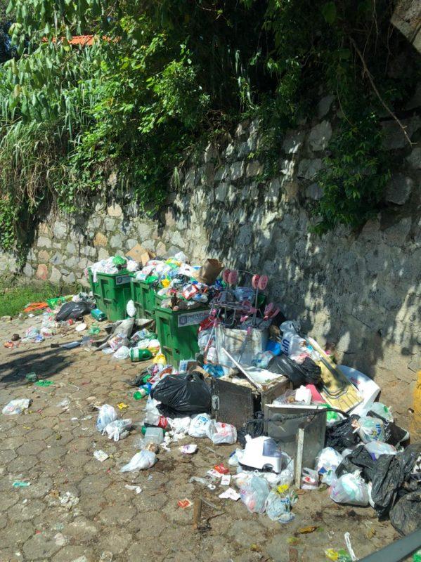 Força-tarefa da Comcap atua em diversos bairros nesta terça-feira (4) – Foto: Eneias Leandro/Divulgação ND