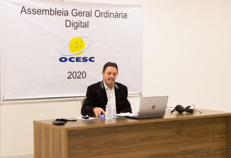 Presidente da Ocesc anuncia resultados excepcionais – Foto: Noticias do Dia