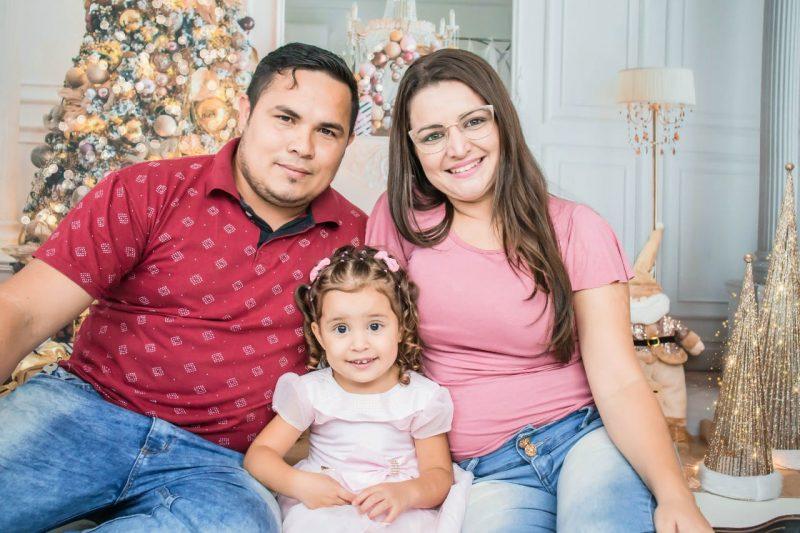 Em Joinville, Madson encontrou a esposa e formou família – Foto: Arquivo pessoal/ND