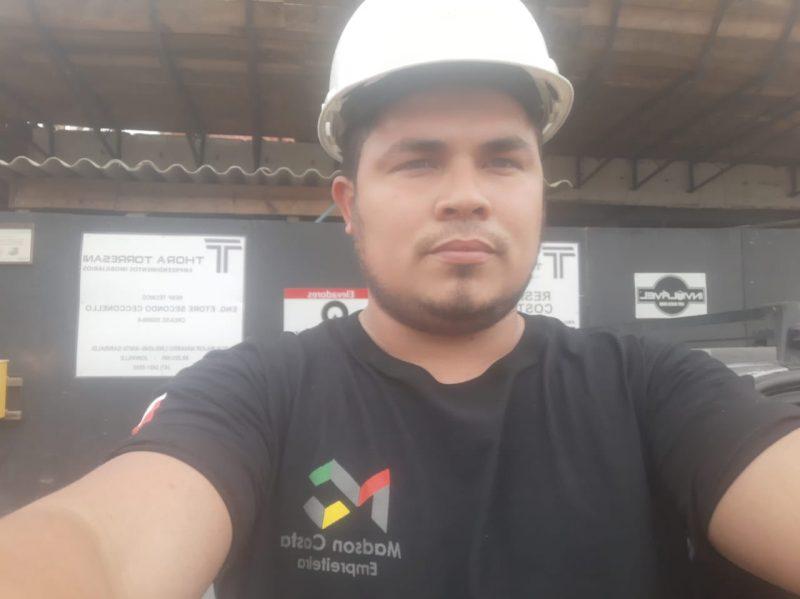Madson chegou como pedreiro e conseguiu abrir a própria empresa em Joinville – Foto: Arquivo pessoal/ND