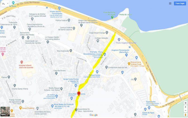 horários;ônibus;obras;centro;florianópolis