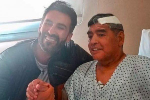Maradona e o médico Leopoldo Luque – Foto: Reprodução/Instagram/ND