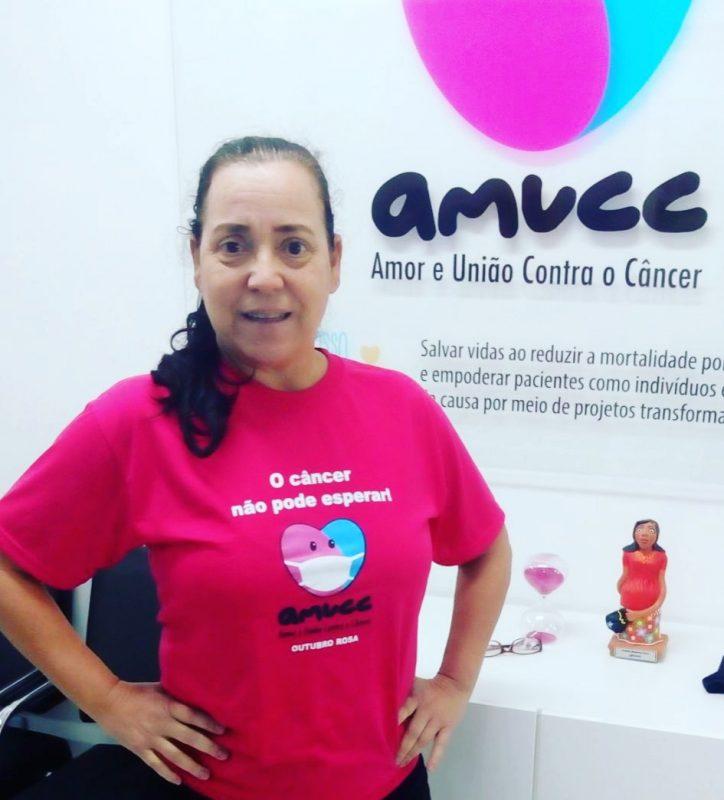 Maria Machado, paciente de câncer