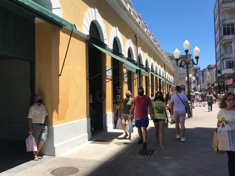 Mercado Público é referência para moradores e turistas no Centro de Florianópolis – Foto: Bruna Stroisch/ND