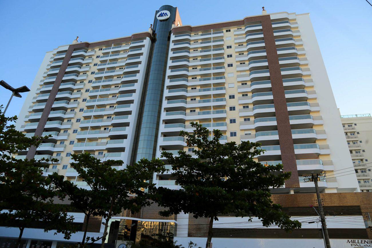 Fachada do residencial Millenium Palace, em São José - AM Construções/Divulgação