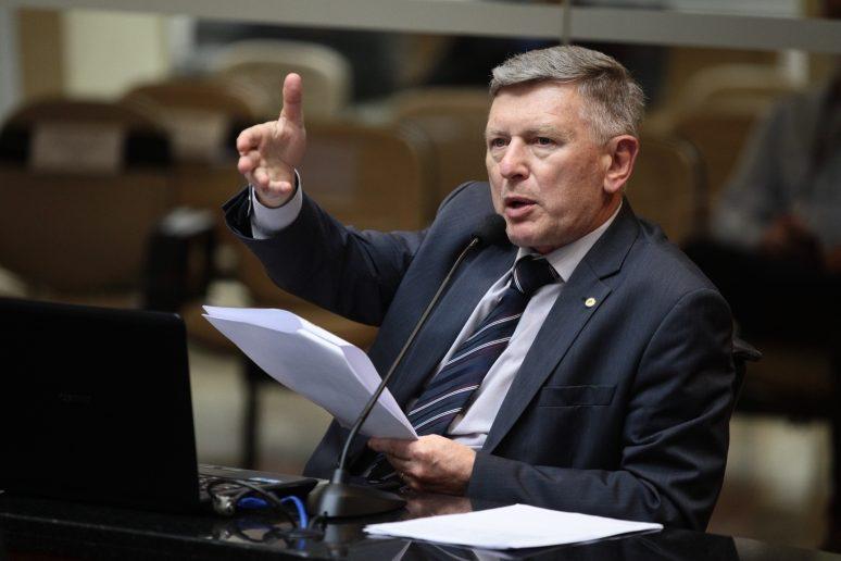 Milton Hobus, presidente da CCJ da Alesc – Foto: Alesc/Divulgação/ND