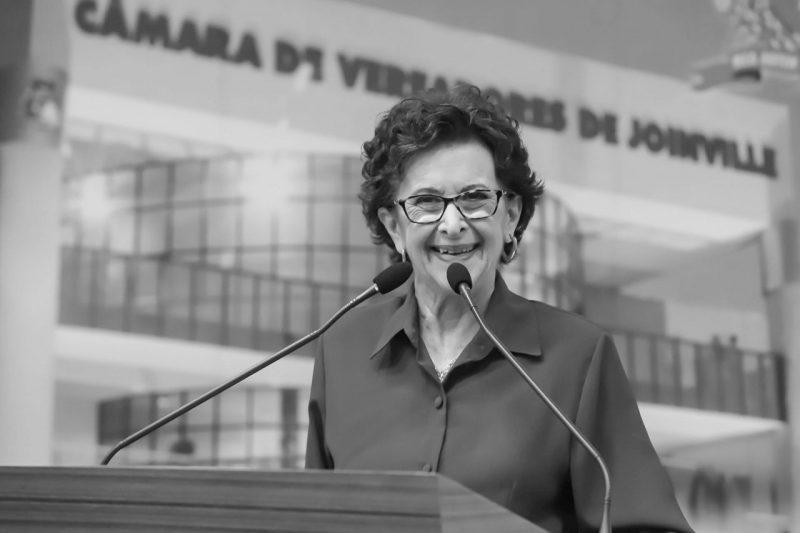 Ana Rita morreu na madrugada desta terça-feira (9) em um hospital particular de Joinville – Foto: CVJ/Divulgação/ND