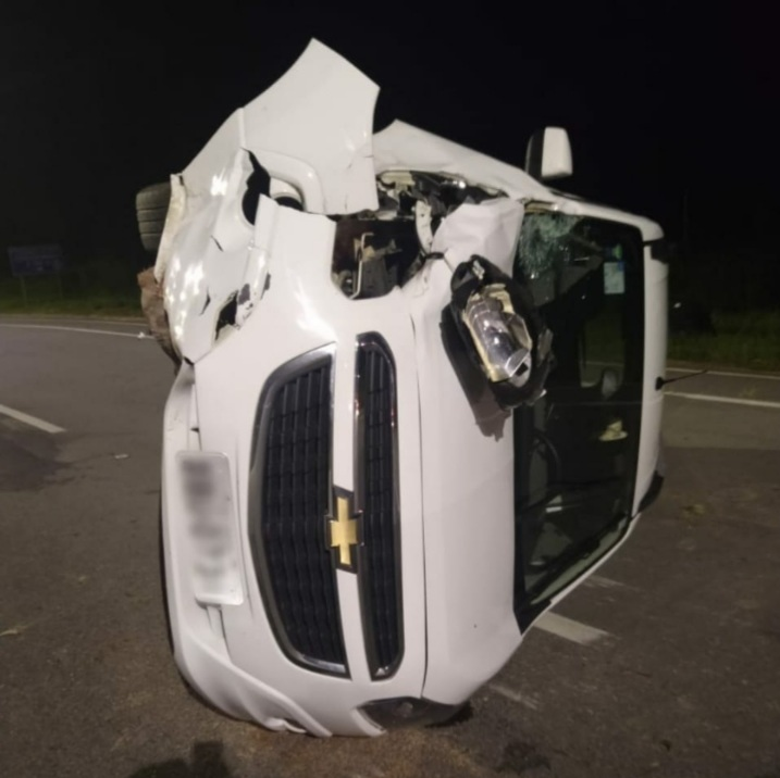 acidente de carro fez vítima fatal na SC-401, em Florianópolis