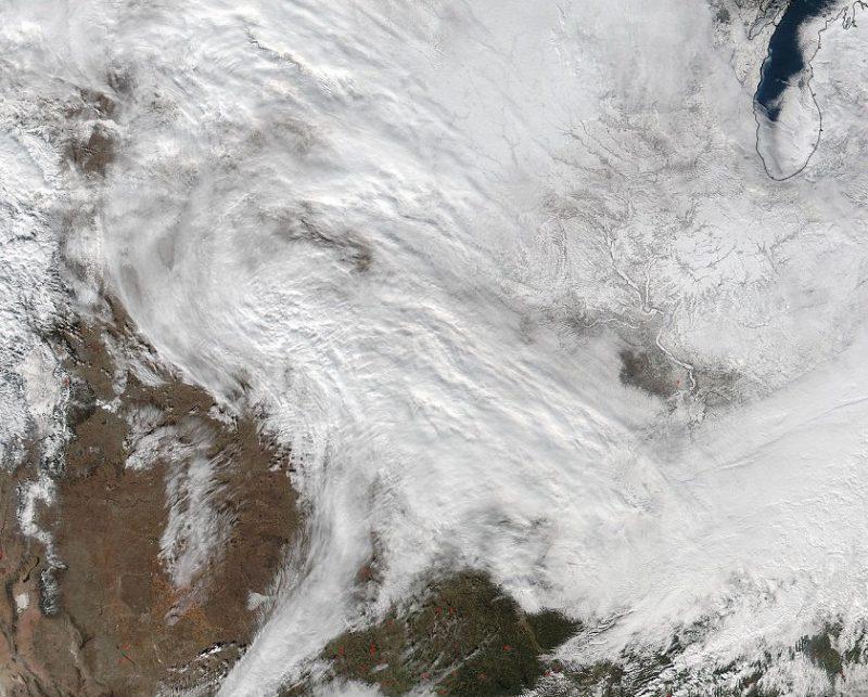 neve; eua; tempestade; frio; tornados