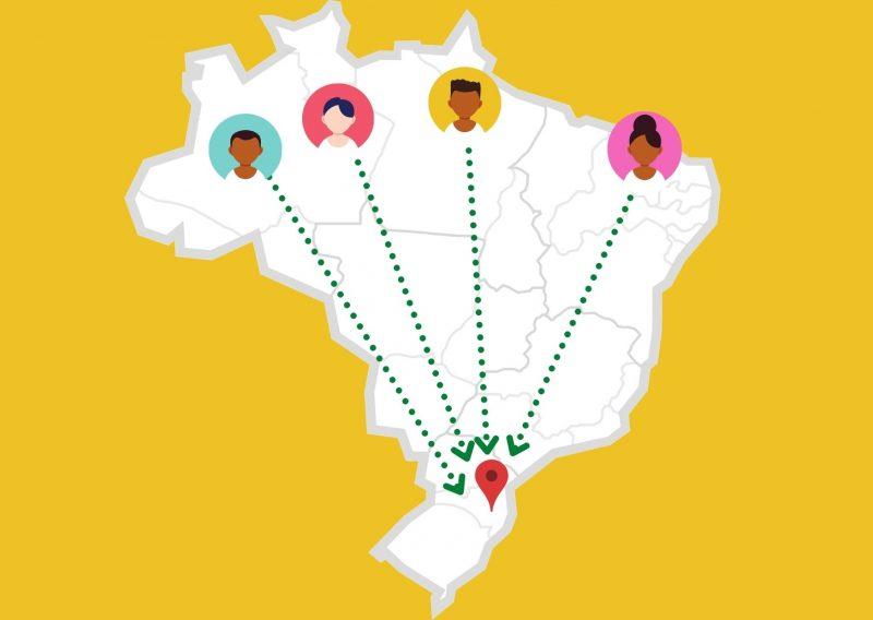 Migração de nortistas e nordestinos em Joinville têm crescido nos últimos anos – Foto: Arte/ND