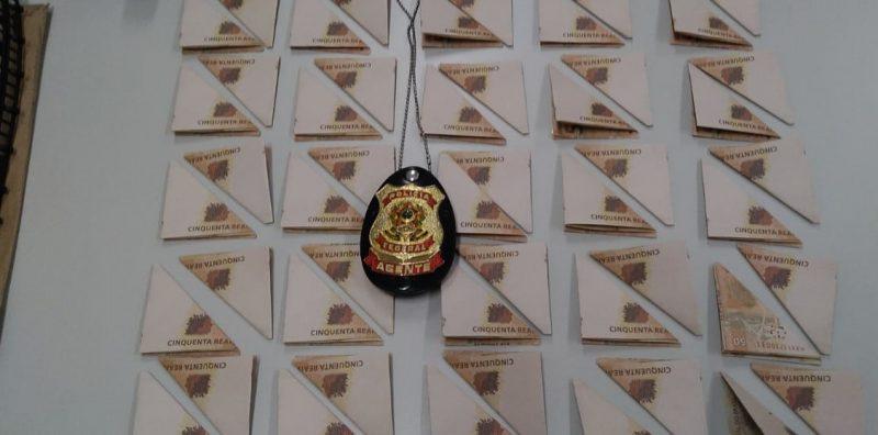 Cédulas foram enviadas de Minas Gerais pelos Correios – Foto: Polícia Federal/Divulgação