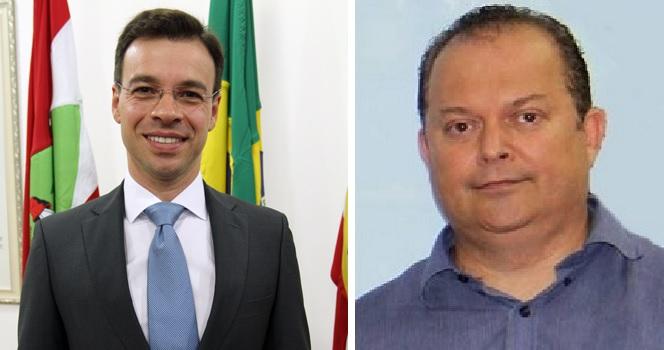 Sylvio Zimmermann e Ricardo Arty Echelmeier são os novos nomes no secretariado de Mário Hildebrandt – Foto: Divulgação
