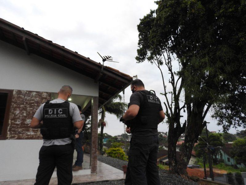 Quatro pessoas já foram presas durante a operação – Foto: Polícia Civil/Divulgação