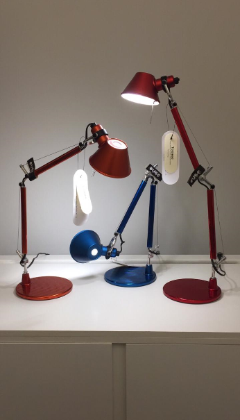 Luminária Tolomeo é ícone do design – Foto: Divulgação