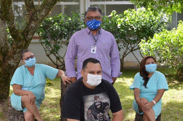 Vítimas da Covid-19 internados em SC voltam para Manaus – Foto: SES/Divulgação/ND