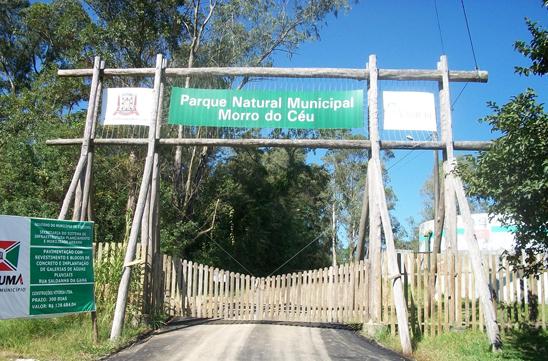 Entrada principal do Parque Natural Municipal Morro do Céu segue fechada – Foto: Parque Morro do Céu entrada