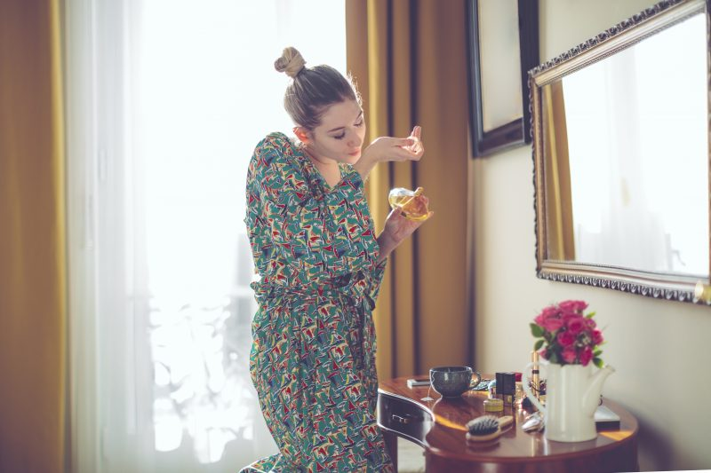 Perfume apreciado – Foto: Getty Images/iStockphoto/ND