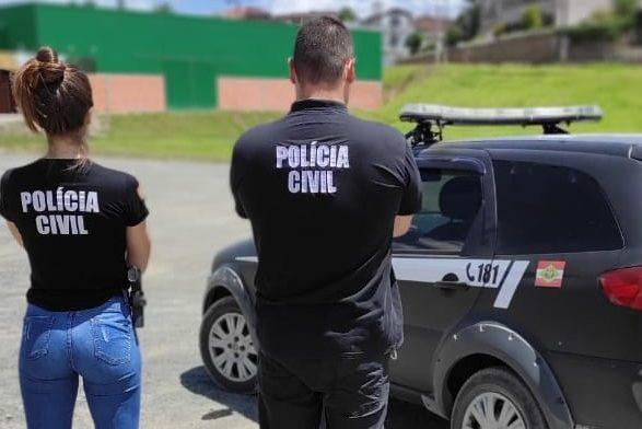 Jovem é preso por armazenar vídeo de sexo envolvendo adolescente em Taió – Foto: Divulgação/Polícia Civil