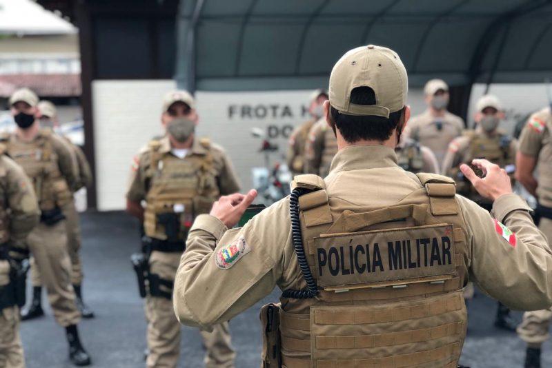 Blumenau recebe 12 novos policiais para fiscalizar decreto contra a Covid-19 – Foto: Gabriela Milanezi / NDTV Blumenau