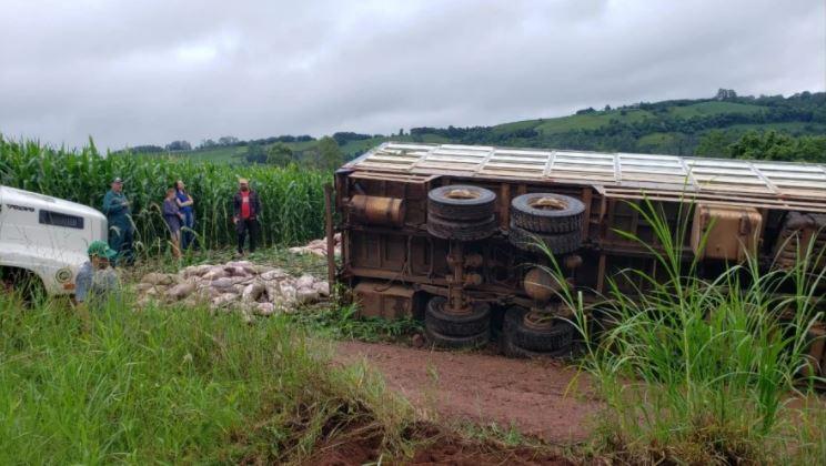 Motorista comentou que era guiado pelo GPS e não sabia das condições das estradas do interior - Jornei de Souza/Portal Peperi/Divulgação/ND