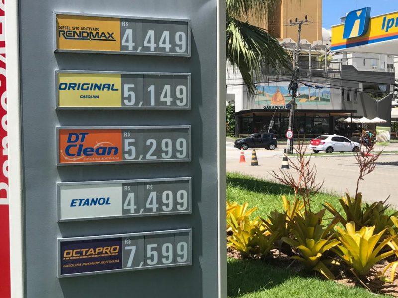 A média de preço na Capital, segundo o balanço, é de R$ 4,81