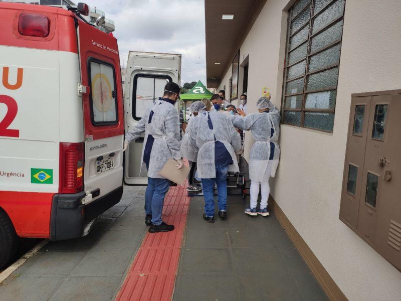 Aumento nos casos de Covid-19 em Santa Catarina – Foto: Prefeitura de Xanxerê/Divulgação