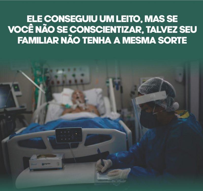 Com frases mais impactantes ainda, a estratégia da prefeitura é causar reflexão nas pessoas que passam pelo local. – Foto: Prefeitura de Xaxim/Divulgação/ND