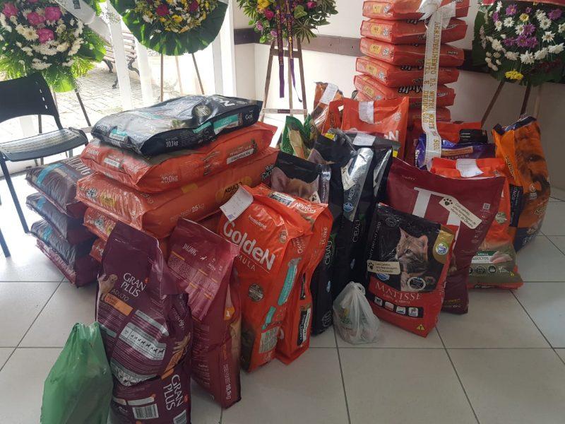 Cada hora aumenta el número de donaciones en el velorio de Ana Rita - Foto: Albertina Camilo / ND Disclosure