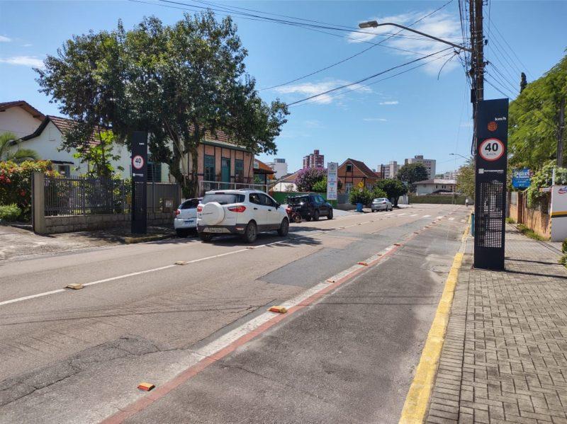 Joinville tem 134 radares espalhados por várias ruas – Foto: Adriano Mendes/NDTV
