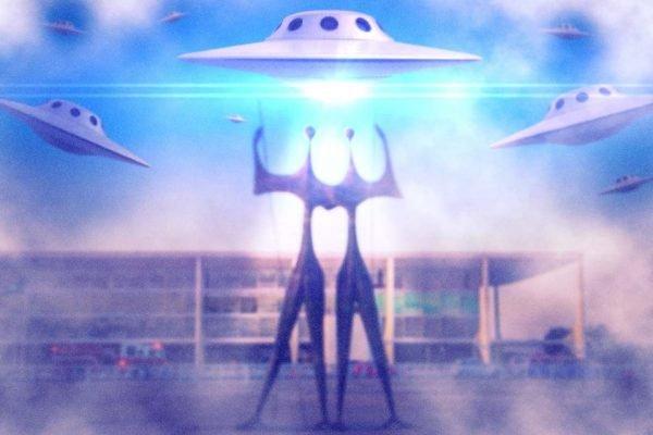 A religião raeliana acredita que extraterrestres criaram toda a vida existente na Terra com a ajuda da ciência e tecnologia – Foto: Gui Prímola/Metrópoles