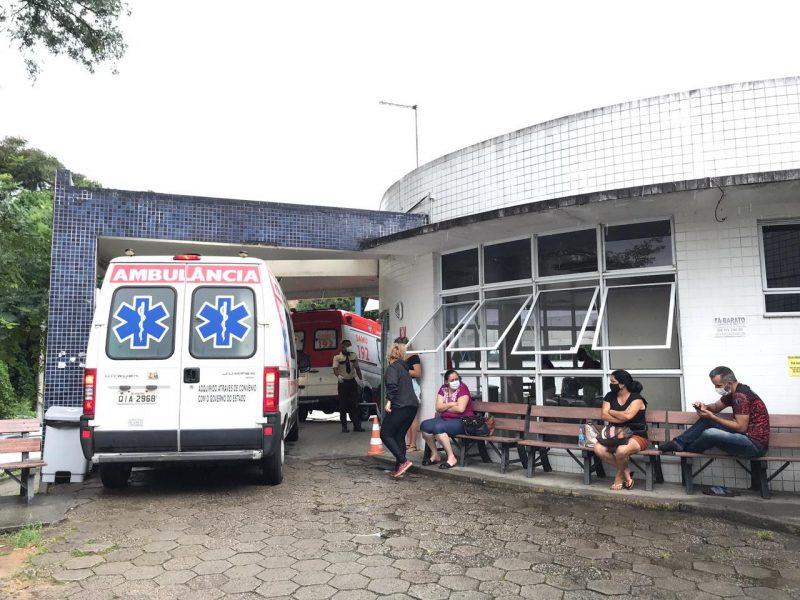 Nesta quarta-feira (25), o Estado decretou colapso no sistema de saúde, devido à alta demanda por insumos e unidades de atendimento sobrecarregados – Foto: Leo Munhoz/ND