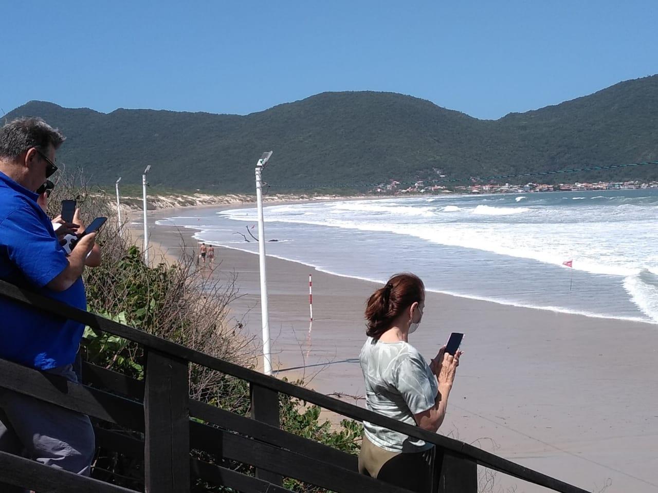 Ventos do quadrante sul elevam o nível do oceano - Andréa da Luz/Divulgação/ND