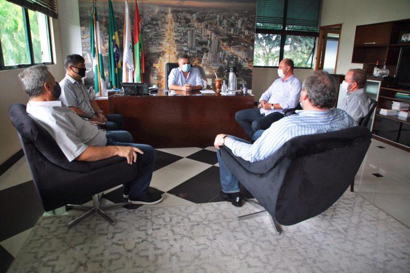 Reunião aconteceu nesta quinta-feira – Foto: Fotos: Leandro Schmidt/ND