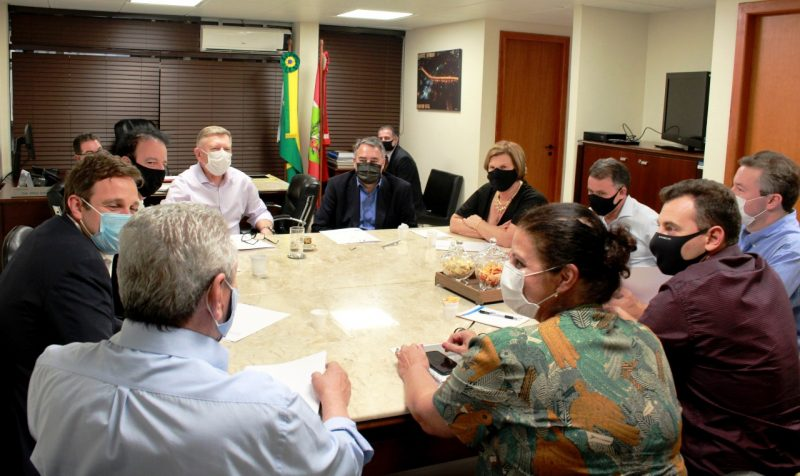 Líderes estaduais do PSD estiveram reunidos nesta tarde – Foto: Divulgação/Assessoria
