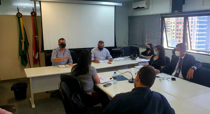Encontrou reuniu governo estadual, empresa responsável pelo Samu e sindicatos – Foto: SES/Divulgação