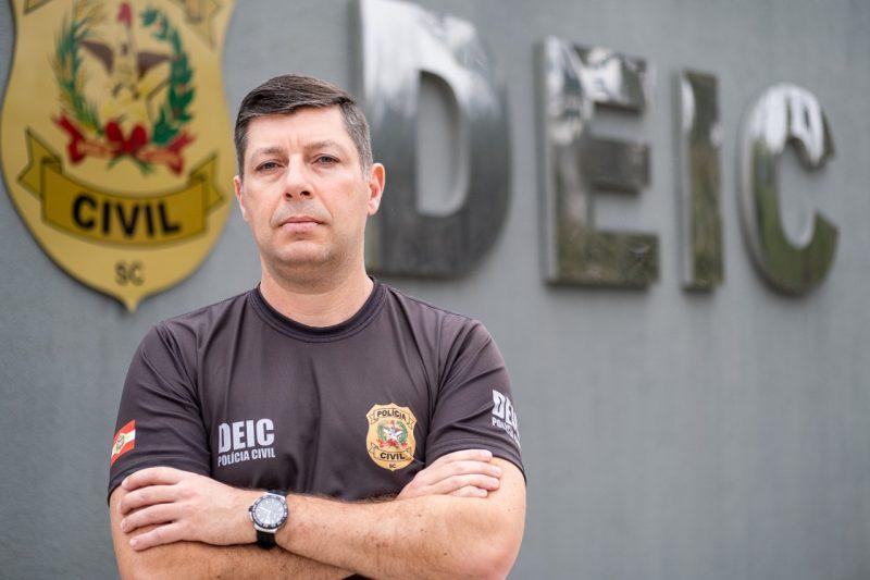 Rodrigo Bortolini, presidente da Adepol-SC – Foto: Divulgação/ND