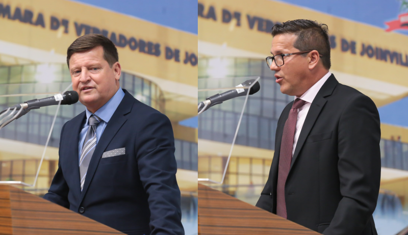 Sidney Sabel e Osmar Vicente podem perder mandato – Foto: Mauro Schliek/CVJ