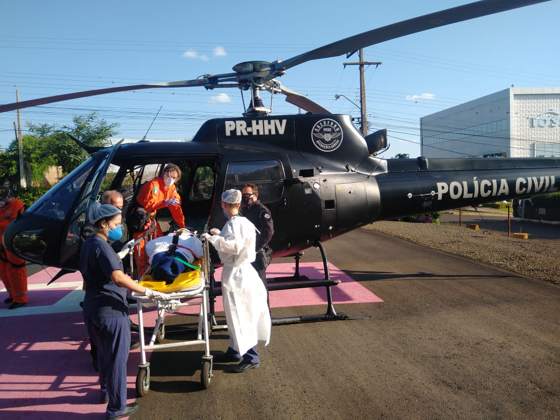 Acidente ocorreu na tarde deste domingo (21). - SAER/Divulgação/ND