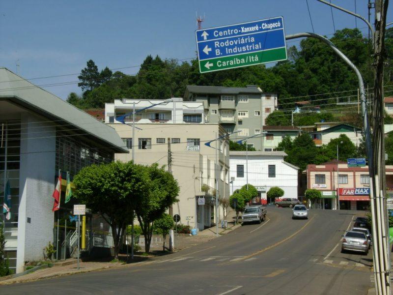O município de Seara terá apenas funcionamento das atividades essenciais. – Foto: Seara/Reprodução/ND