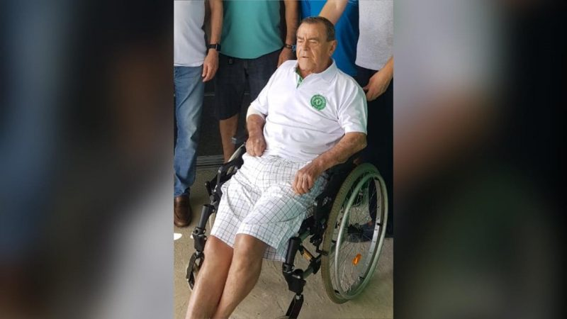 Sérgio Trentin dirigiu a Chapecoense por alguns anos e era torcedor do clube – Foto: Divulgação/ND