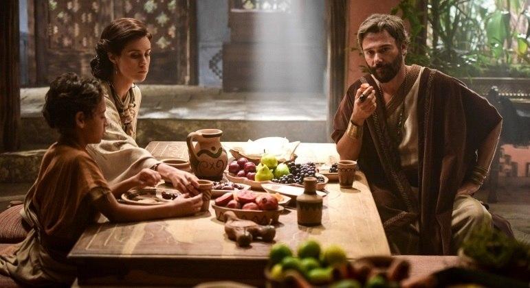 Gênesis: Embate entre Nadi e Amat mantém novela na vice-liderança. A novela teve início no dia 19 de janeiro de 2021 – Foto: Record TV/Reprodução