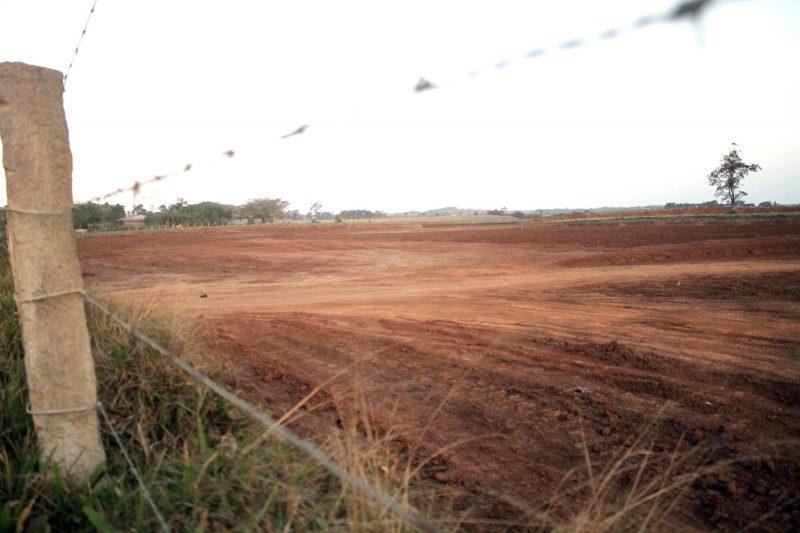 Área localizada nas margens da BR-101 começou a ser preparada em 2017 – Foto: Terminal Intermodal Sul/Divulgação/ND