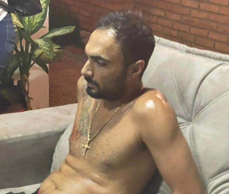 O catarinense foi preso em um mansão no Paraguai – Foto: Divulgação/ ND